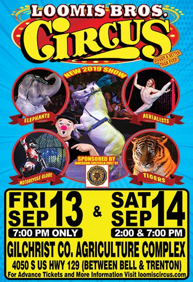 Gilchrist Co Circus